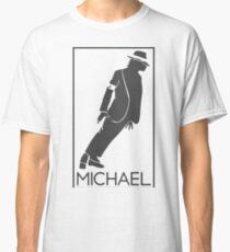 Silueta de el Rey del pop Michael Jackson Classic T-Shirt