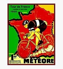 TOUR DE FRANCE; Vintage Cycle Racing Advertising Print Photographic Print