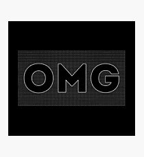 (A) OMG + Photographic Print
