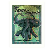 tame poster impala Art Print