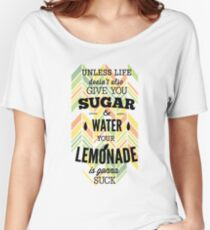 Humor text Design Women's Relaxed Fit T-Shirt