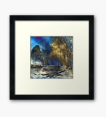 Edge of Reality Framed Print
