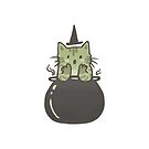 Cauldron Cat by dcrownfield