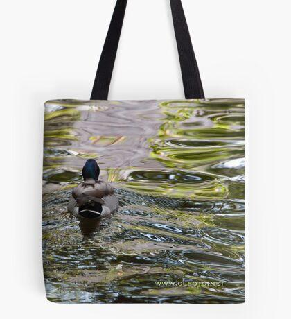 Meandering through the ripples, Bolzano/Bozen, Italy Tote Bag
