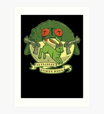 The Righteous Indignation of Captain O'Hare Art Print