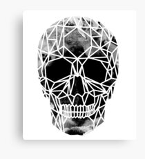 Crystal Skull Infrared Canvas Print