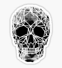Crystal Skull Infrared Sticker