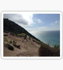 Michigan Sand Dunes Sticker