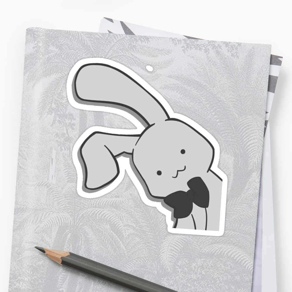 Ohshc Honey Bunny Stickers By Marzopy Redbubble