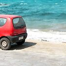 Cars by the beach by Riko2us
