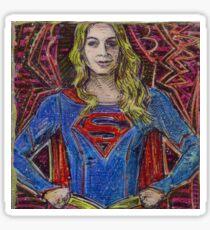 Girl of Steel Sticker