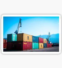 Container terminal Sticker
