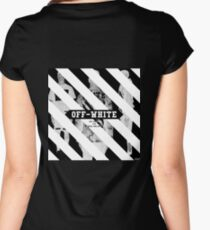 Off White Women's Fitted Scoop T-Shirt