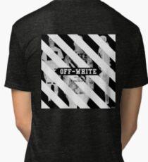 Off White Tri-blend T-Shirt