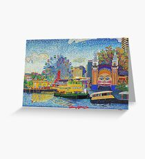 Luna Park Sydney Greeting Card