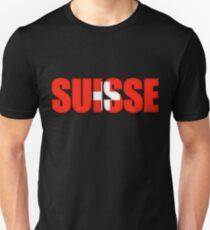 Switzerland Suisse Flag  Unisex T-Shirt
