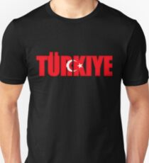 Turkey Turkiye Flag  Unisex T-Shirt