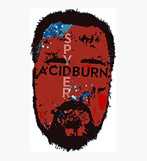 Spyder Acidburn Patriot Mask Photographic Print