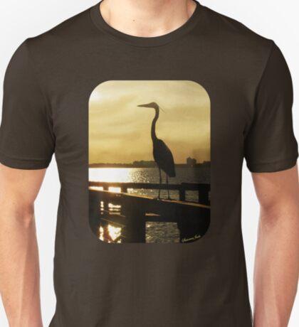 King of the Pier ~ Heron T-Shirt