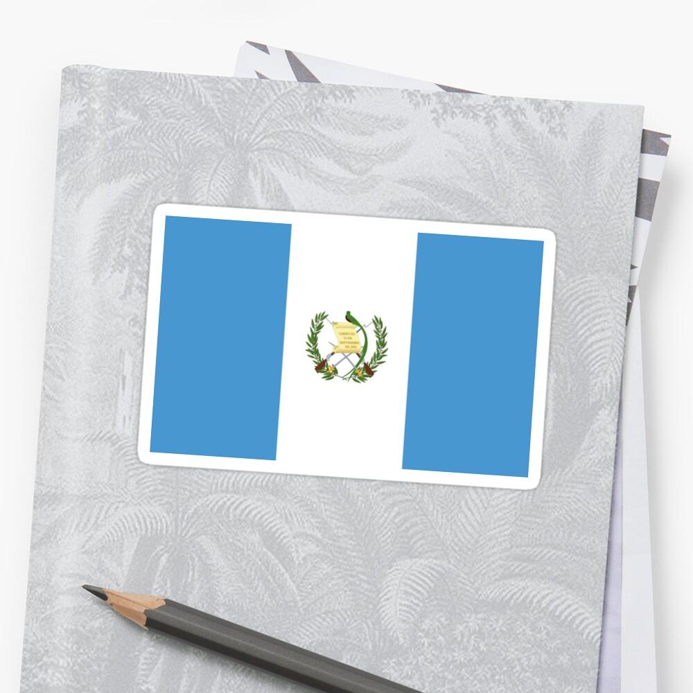 Guatemala Flag by states