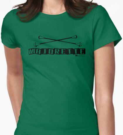 Label Me A Majorette (Black Lettering) T-Shirt