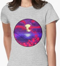 Evening In Glass Womens Fitted T-Shirt