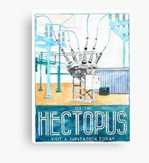 Hectopus Canvas Print