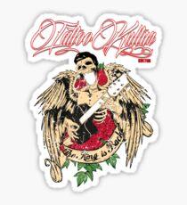 Tattoo Kultur - The King Is Back Sticker