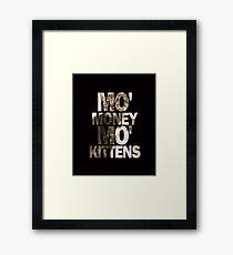 Mo' Money, Mo' Kittens 2 Framed Print