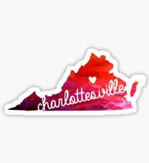 Charlottesville Sticker