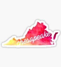 Chesapeake Sticker