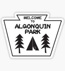 Welcome To Algonquin Sticker