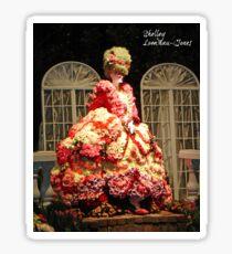 Marie Antoinette in Roses Sticker