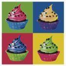 Cupcake Pop Art by cultclothingco