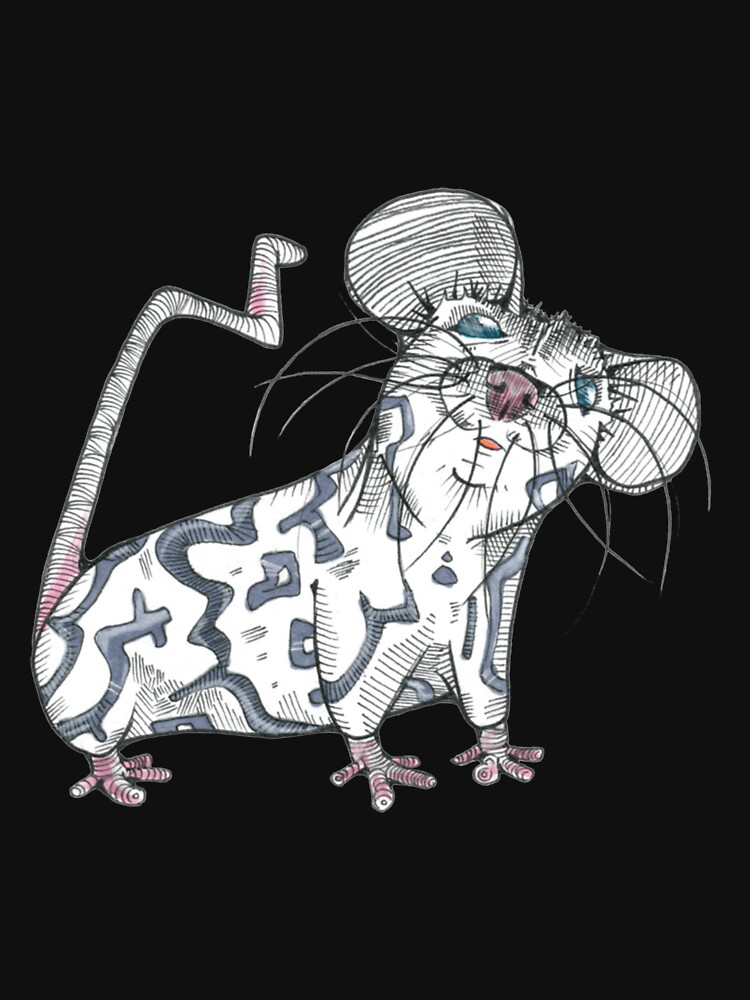 Mouse Rat - Kent The Mouse by rebeccadigennar
