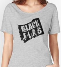 BLACK FLAG Women's Relaxed Fit T-Shirt