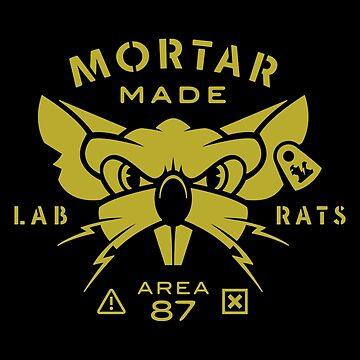 Mouse Rat - Mortar Lab Rats by rebeccadigennar