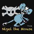 Mouse Rat - Nigel The Mouse From Cuddles The Urban Pirate by Rebecca J Digennaro