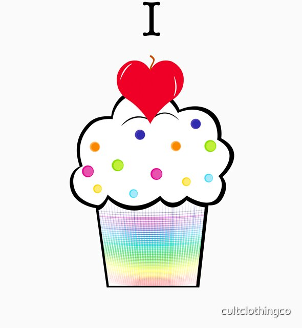 I ♥ Cupcakes by cultclothingco