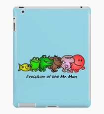 EVOLUTION OF THE MR. MAN iPad Case/Skin