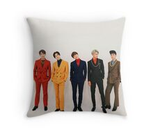 shinee 4 Throw Pillow