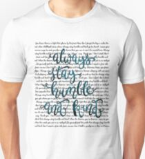 humble and kind Unisex T-Shirt