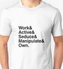 Daemons - Mr Robot - Helvetica Bold Unisex T-Shirt