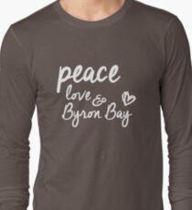 peace, love & Byron Bay T-Shirt