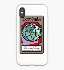Vinilo o funda para iPhone DOMINACIÓN MUNDIAL