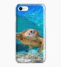 Happy Turtle iPhone Case/Skin