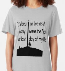 Cool quotes Slim Fit T-Shirt