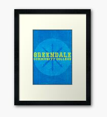Community - Greendale Community College Framed Print