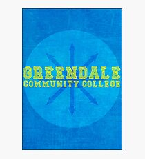 Community - Greendale Community College Photographic Print