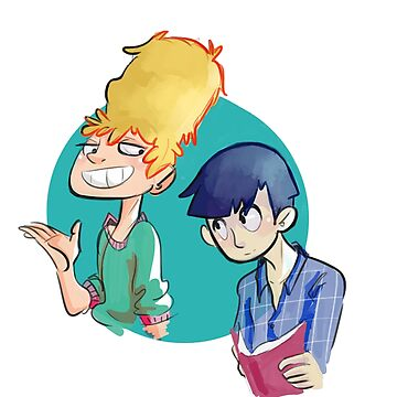 Teru and Mob by Nixonsshades